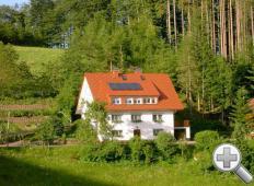 Haus Waldeck von vorne