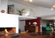 Dach-Atelier mit Galerie und Kamin